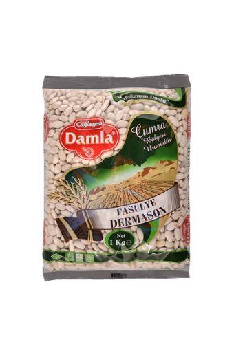 DAMLA DERMASON FASULYE  1KG   resmi