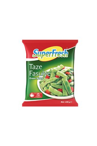 SUPER FREŞH DONUK TAZE FASULYE 450 GR  resmi