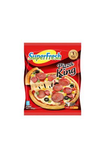 SUPER FREŞH PIZZA KING 4LÜ 780 GR   resmi