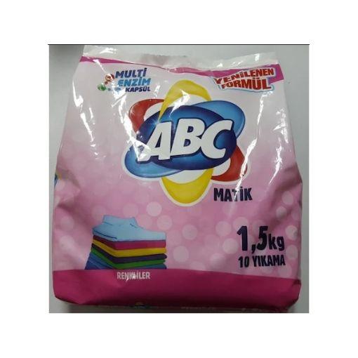 ABC MATİK TOZ DETERJN RENKLİLER  1,5 KG  resmi
